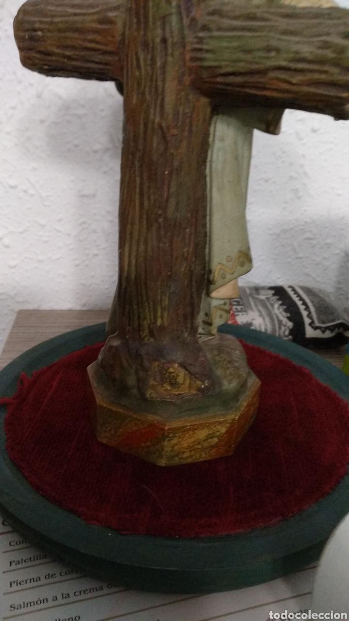 Antigüedades: Fanal con escultura niño Jesús Olot rarísima - Foto 6 - 182494313