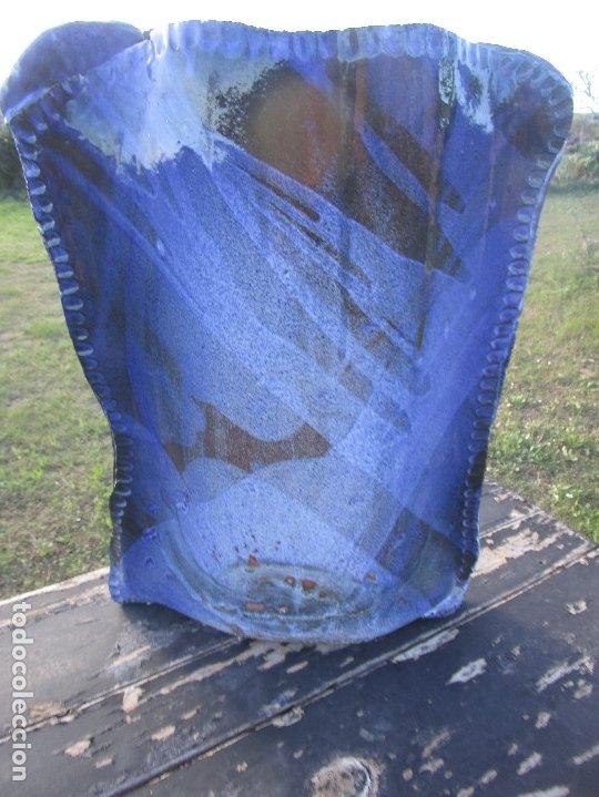 Antigüedades: FLORERO O JARRÓN de ceràmica esmaltado - Foto 3 - 182498916