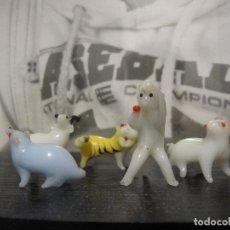 Antigüedades: LOTE ANIMALES DE MURANO. Lote 182499735