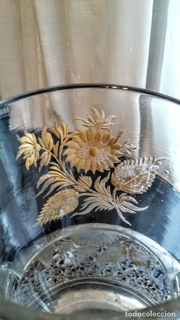 Antigüedades: Jarra del Siglo XVIII de cristal de la Real Fábrica de La Granja - Foto 8 - 182502391