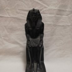 Antigüedades: FIGURA FARAON - DIOS ANTIGUO EGIPTO PIRAMIDES. Lote 182509818