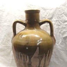 Antigüedades: CÁNTARO CANTARA ALFARERÍA LEVANTINA SEGORBE. ALTURA 48 CM. Lote 182512036