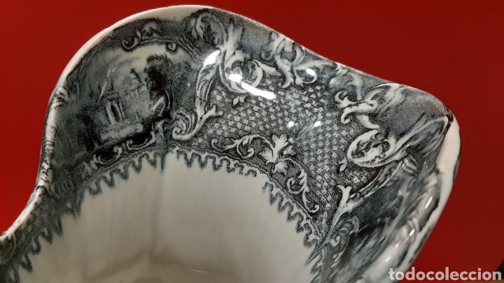 Antigüedades: GRAN JARRA, SAN JUAN DE AZNALFARACHE, SIGLO XIX. MIDE 29 X 21 CM. PERFECTO ESTADO. - Foto 4 - 182527860