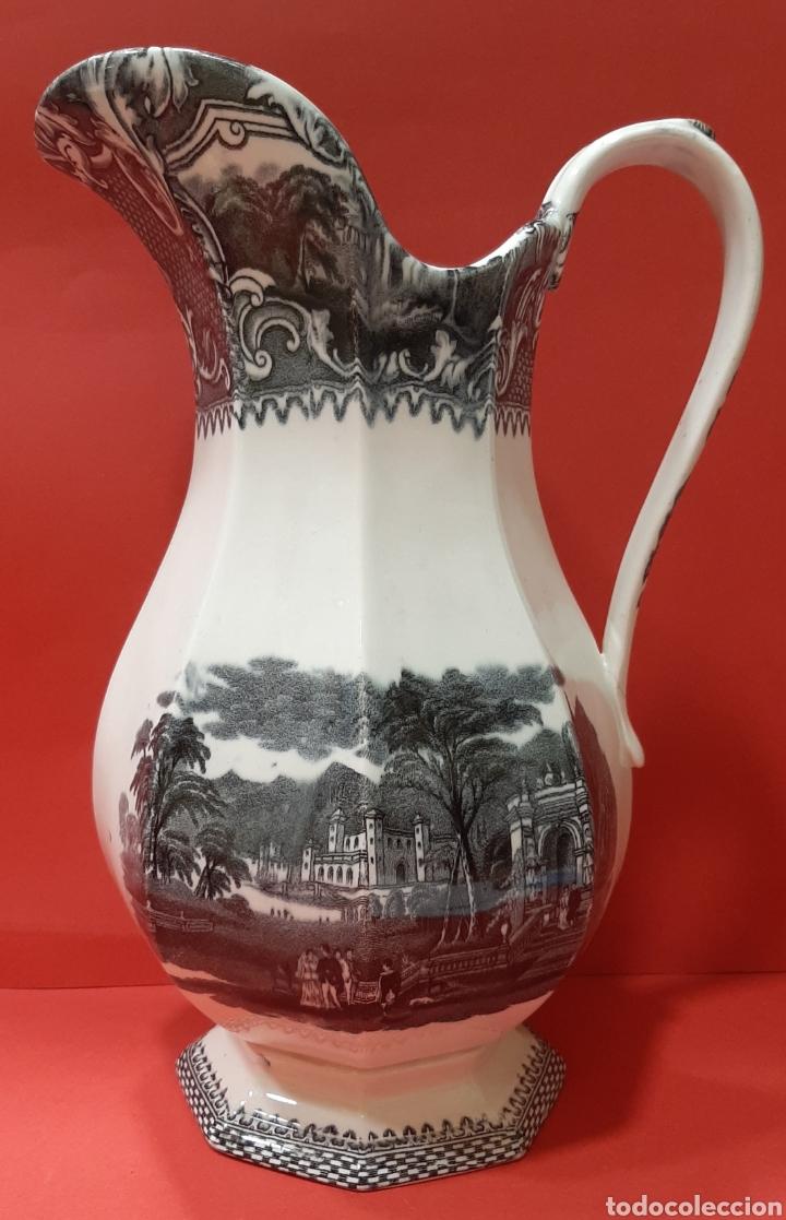 GRAN JARRA, SAN JUAN DE AZNALFARACHE, SIGLO XIX. MIDE 29 X 21 CM. PERFECTO ESTADO. (Antigüedades - Porcelanas y Cerámicas - San Juan de Aznalfarache)