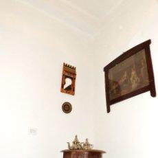 Antigüedades: SALA DE TÉ MARROQUÍ COMPLETA, HERMOSO CONJUNTO ARABESCO. Lote 182550188