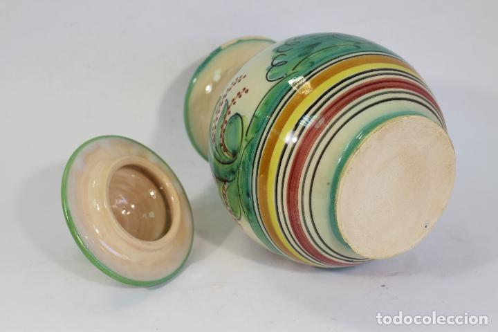 Antigüedades: tarro orza pasta en ceramica puente del arzobispo - Foto 2 - 182557548