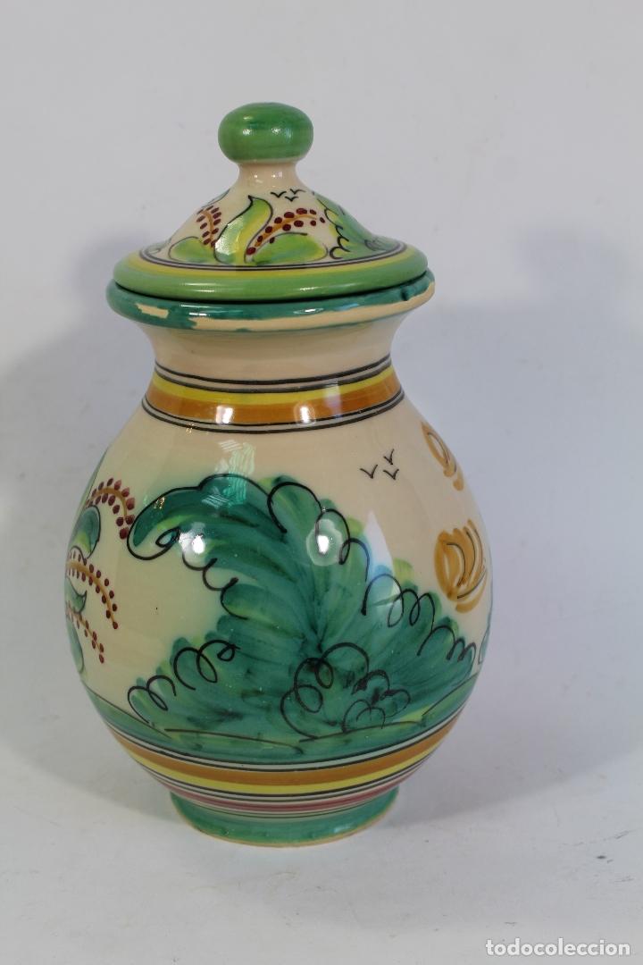 Antigüedades: tarro orza pasta en ceramica puente del arzobispo - Foto 3 - 182557548