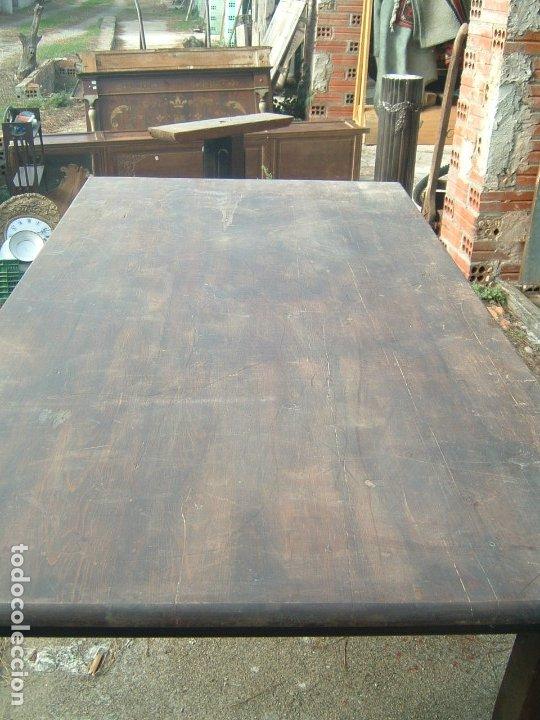 Antigüedades: Mesa rectangular - Foto 5 - 38576918