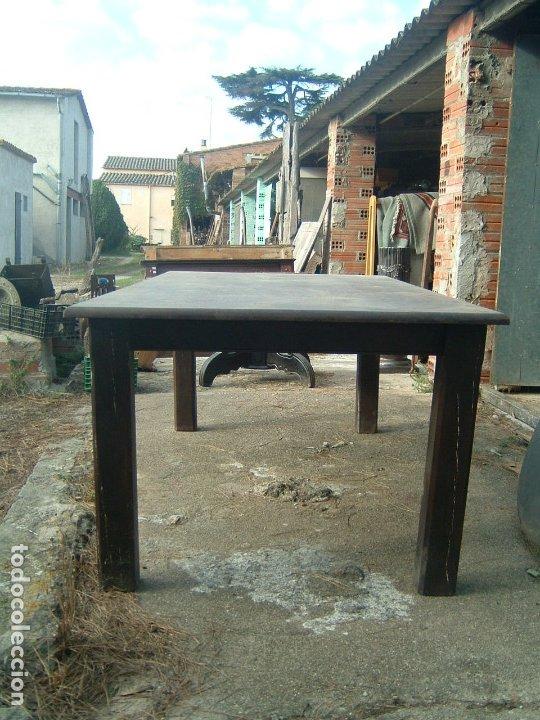 Antigüedades: Mesa rectangular - Foto 2 - 38576918