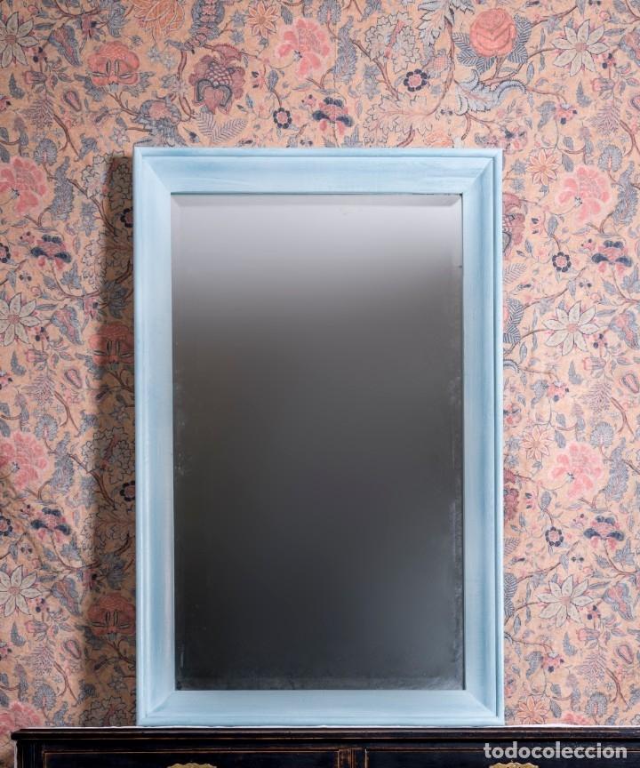 Antigüedades: Espejo Antiguo Restaurado Marcus - Foto 2 - 182570181