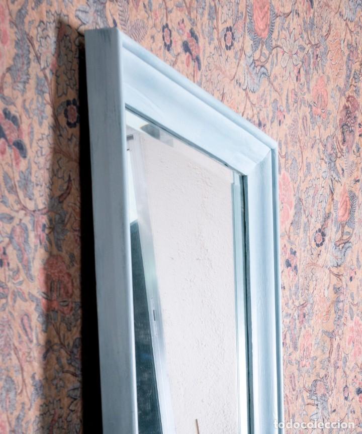 Antigüedades: Espejo Antiguo Restaurado Marcus - Foto 3 - 182570181