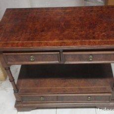 Antigüedades: ANTIGUA MESA DE RAIZ DE NOGAL.. Lote 182573785