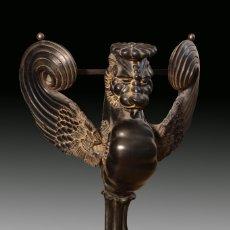 Antigüedades: PIE DE CONSOLA DE ESTILO IMPERIO. SIGLO XX.. Lote 182582300