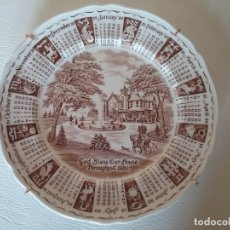 Antigüedades: PLATO DE COLECCION HOROSCOPO FABRICADO POR RINGTONS LTD BY MYOTT. Lote 182595706