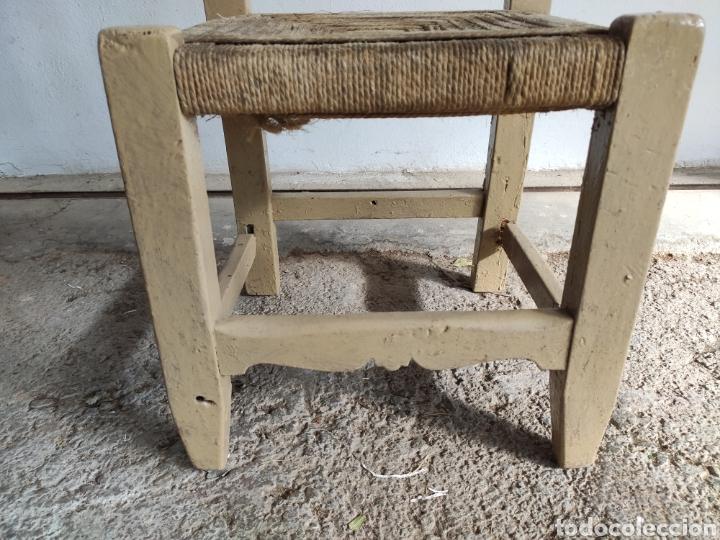 Antigüedades: Coqueta Silla rústica - Foto 4 - 182604568