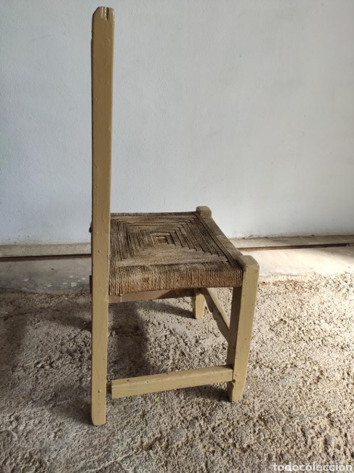 Antigüedades: Coqueta Silla rústica - Foto 6 - 182604568