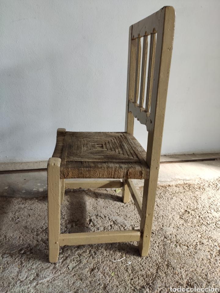 Antigüedades: Coqueta Silla rústica - Foto 8 - 182604568