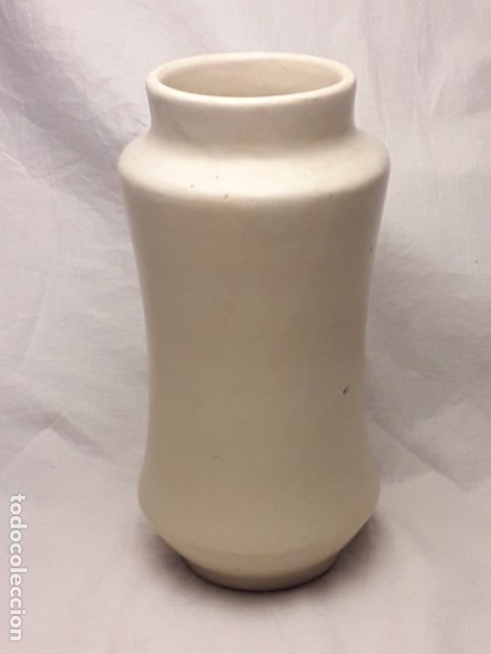 Antigüedades: Bello antiguo tarro albarelo cerámica Chacon Talavera Nuez de Cola - Foto 4 - 182607328