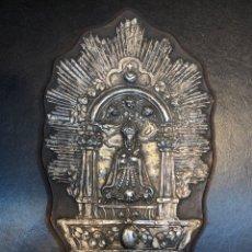 Antigüedades: ANTIGUA VIRGEN DE PAN DE PLATA DEL S. XIX. Lote 182617681