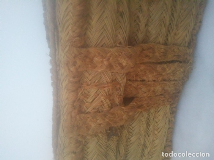 Antigüedades: Antigua cesta bolso de ESPARTO para fruta tienda agricultura ecológica hecha por espartero artesano - Foto 2 - 182621786