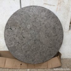 Antigüedades: TABLERO MARMOL GRIS SANTA ANA VELADOR IMPERIO RESTAURACION FRANCIA PPIO S XIX 88 CM DIAM.. Lote 182627251