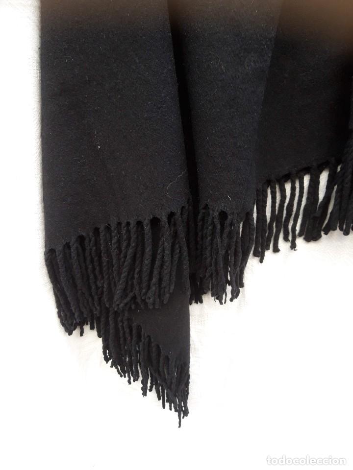 Antigüedades: Quitafrios en fuerte paño de lana, hacia 1920 - Foto 2 - 182643917