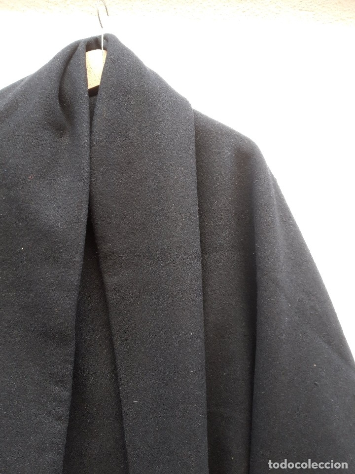 Antigüedades: Quitafrios en fuerte paño de lana, hacia 1920 - Foto 3 - 182643917