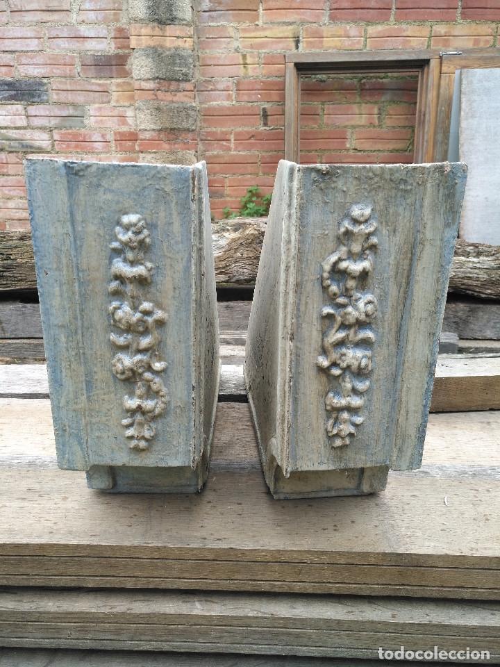 Antigüedades: REPISAS METALICAS. - Foto 3 - 182665567
