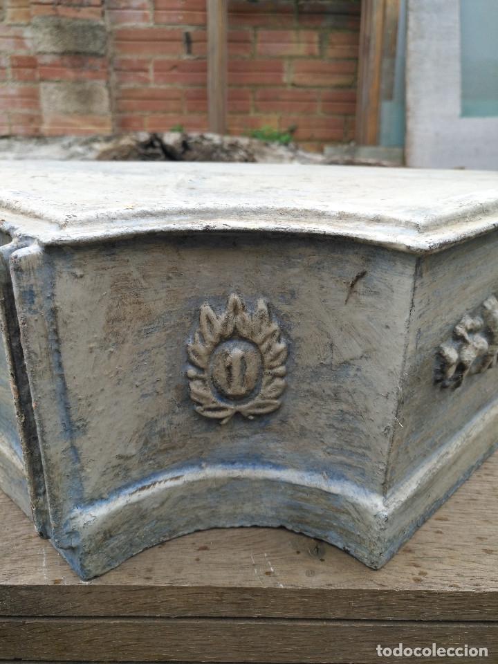 Antigüedades: REPISAS METALICAS. - Foto 4 - 182665567