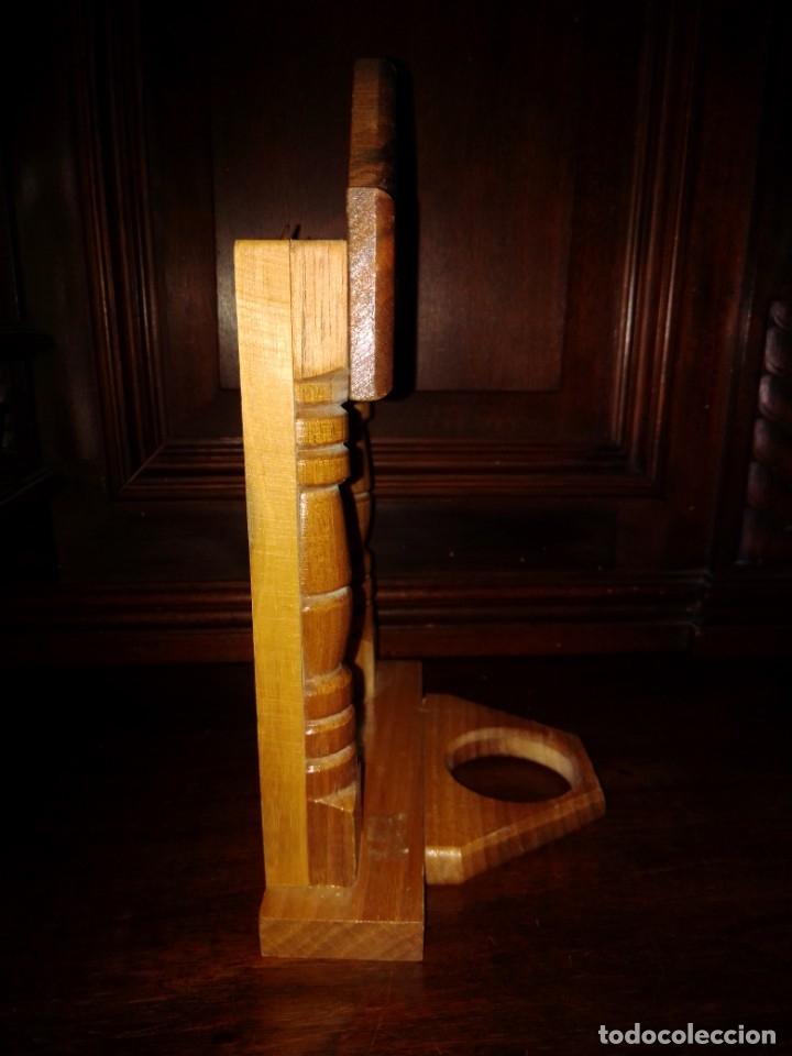 Antigüedades: Preciosa capilla de madera con icono - Foto 2 - 182673095