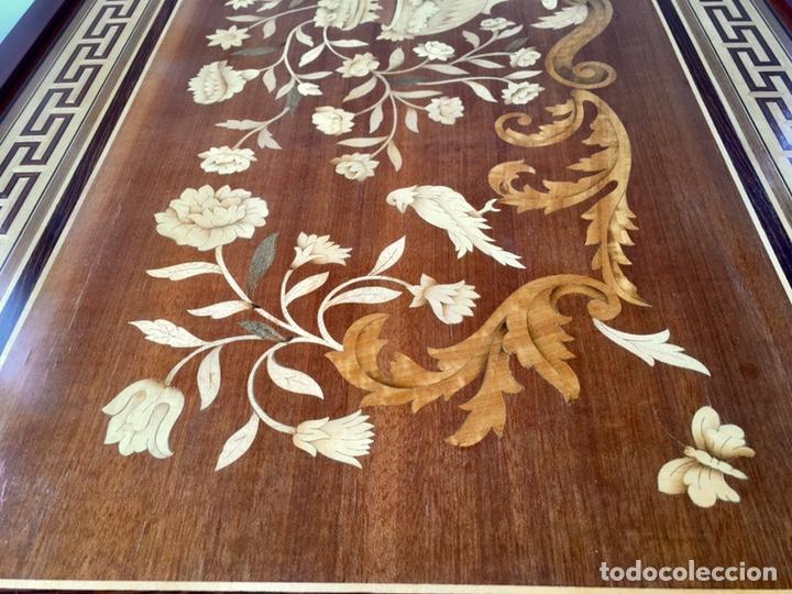 Antigüedades: Panel de marquetería (excelente trabajo de ebanista) - Foto 3 - 182673803