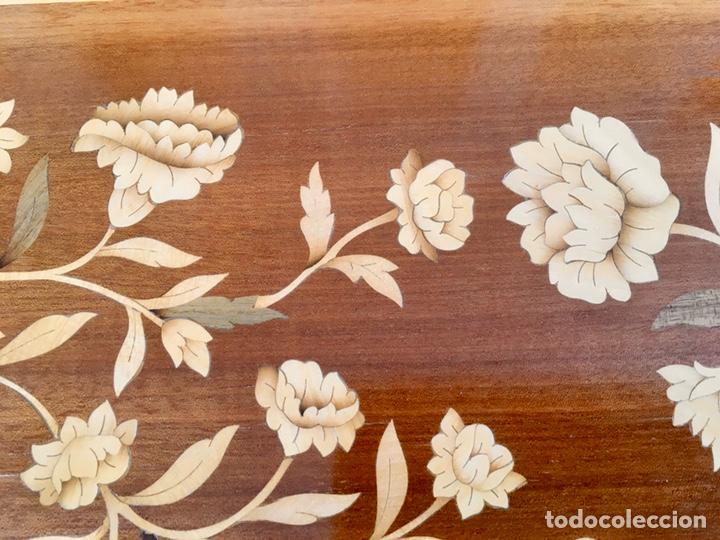 Antigüedades: Panel de marquetería (excelente trabajo de ebanista) - Foto 5 - 182673803