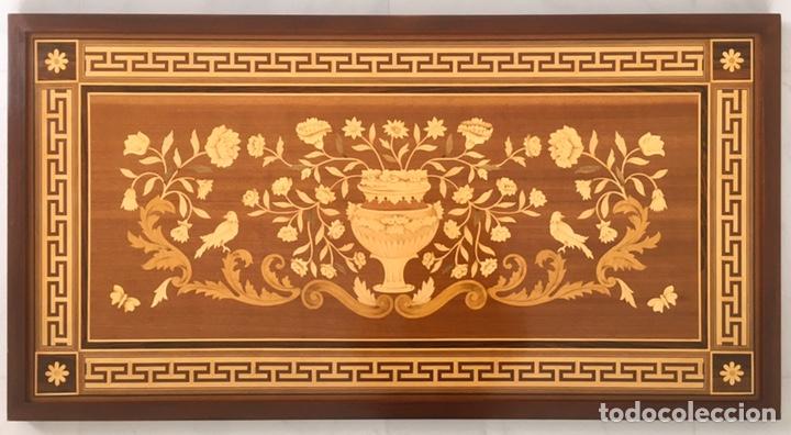 PANEL DE MARQUETERÍA (EXCELENTE TRABAJO DE EBANISTA) (Antigüedades - Hogar y Decoración - Otros)