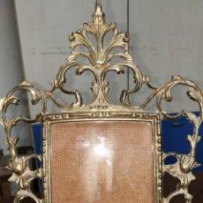 Antigüedades: PRECIOSO MARCO BRONCE. Lote 182684413