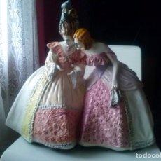 Antigüedades: PRECIOSA FIGURA ESTUCO OLOT. Lote 182699783