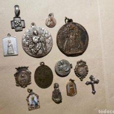Antigüedades: LOTE DE MEDALLAS ANTIGUAS. Lote 182718307