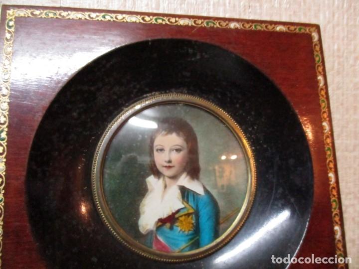 Antigüedades: dos marcos madera pequeños - Foto 2 - 182750768