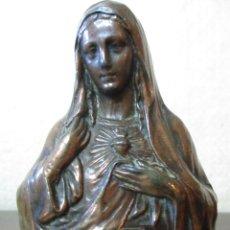 Antigüedades: SAGRADOS CORAZONES DE JESÚS Y MARIA. Lote 182751535