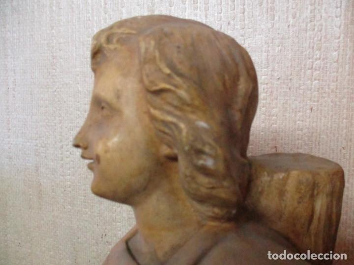 Antigüedades: niño Jesús en la cruz - Foto 3 - 182752680