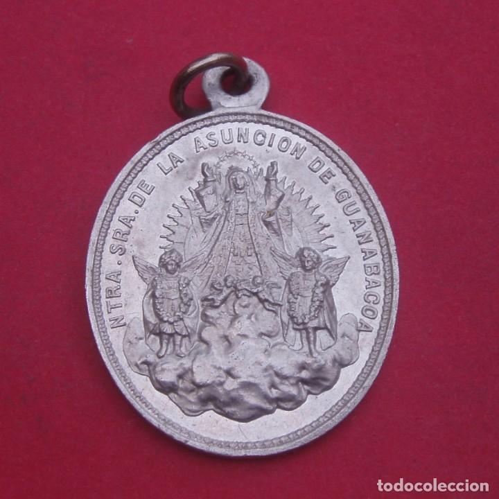 MEDALLA ANTIGUA CUBA VIRGEN DE LA ASUNCIÓN DE GUANABACOA. (Antigüedades - Religiosas - Medallas Antiguas)