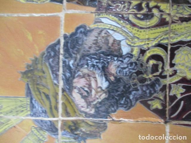 Antigüedades: retablo ceramico azulejos (Gran Poder) Jose Macias - Foto 2 - 182766520