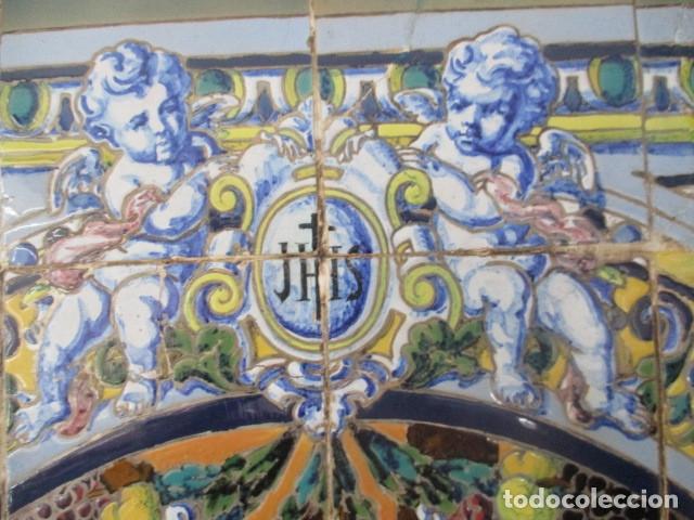 Antigüedades: retablo ceramico azulejos (Gran Poder) Jose Macias - Foto 4 - 182766520