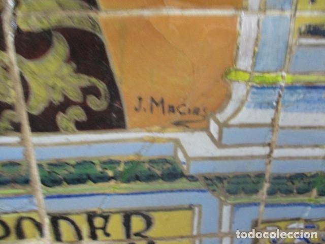 Antigüedades: retablo ceramico azulejos (Gran Poder) Jose Macias - Foto 5 - 182766520