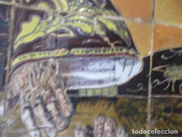 Antigüedades: retablo ceramico azulejos (Gran Poder) Jose Macias - Foto 6 - 182766520