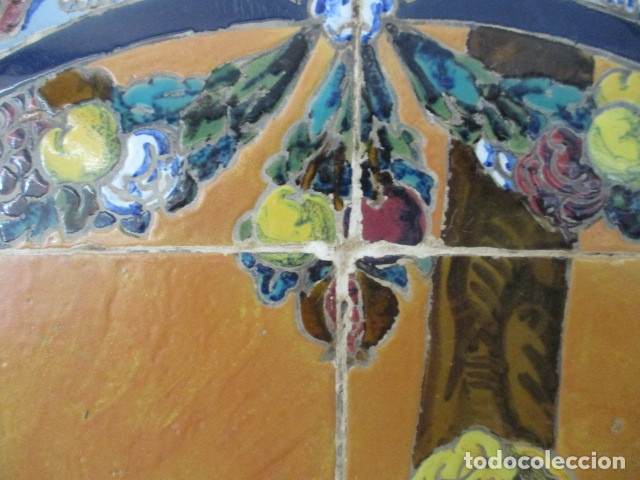 Antigüedades: retablo ceramico azulejos (Gran Poder) Jose Macias - Foto 7 - 182766520