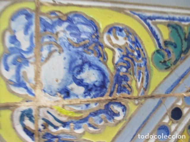 Antigüedades: retablo ceramico azulejos (Gran Poder) Jose Macias - Foto 9 - 182766520