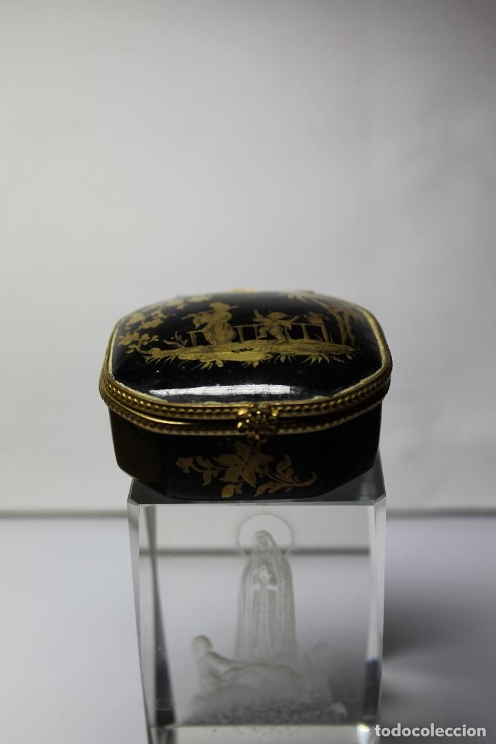 Antigüedades: CAJA DE PORCELANA LE TALLEC DE LIMOGES - Foto 2 - 182773458