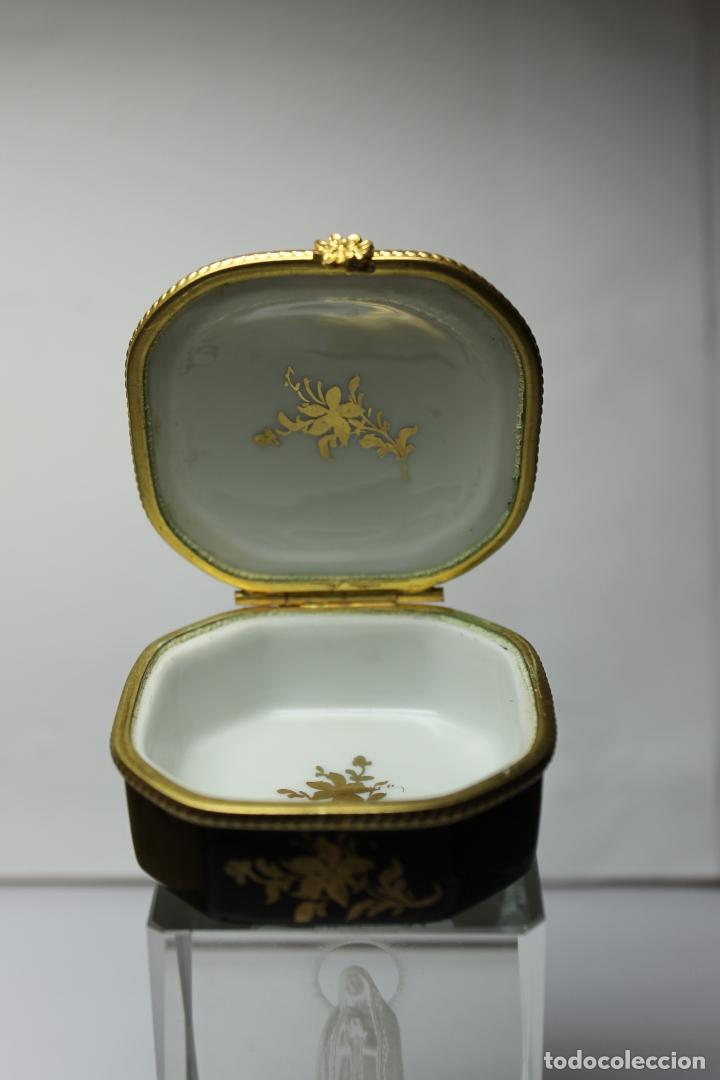 Antigüedades: CAJA DE PORCELANA LE TALLEC DE LIMOGES - Foto 3 - 182773458