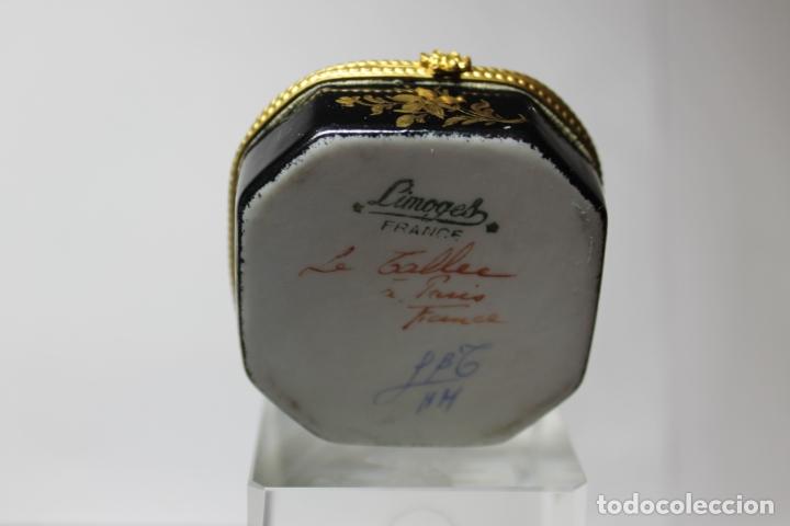 Antigüedades: CAJA DE PORCELANA LE TALLEC DE LIMOGES - Foto 4 - 182773458