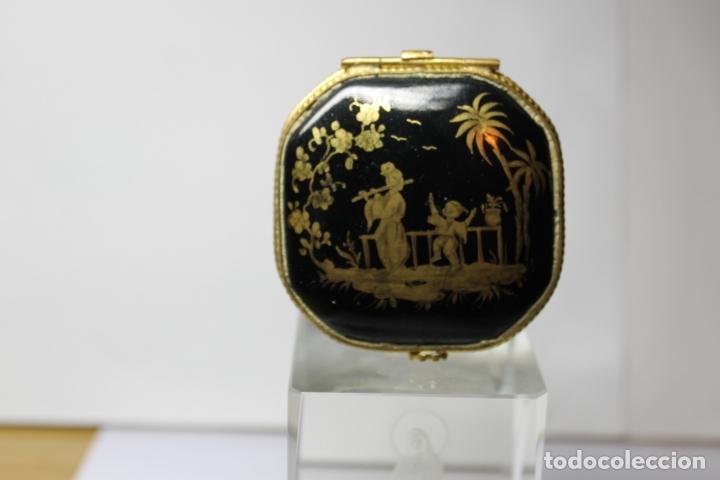 CAJA DE PORCELANA LE TALLEC DE LIMOGES (Antigüedades - Porcelana y Cerámica - Francesa - Limoges)